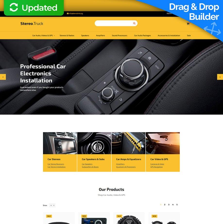 e24c0dd10b61 Адаптивный шаблон интернет магазина #59529 из категории Автомобили - image
