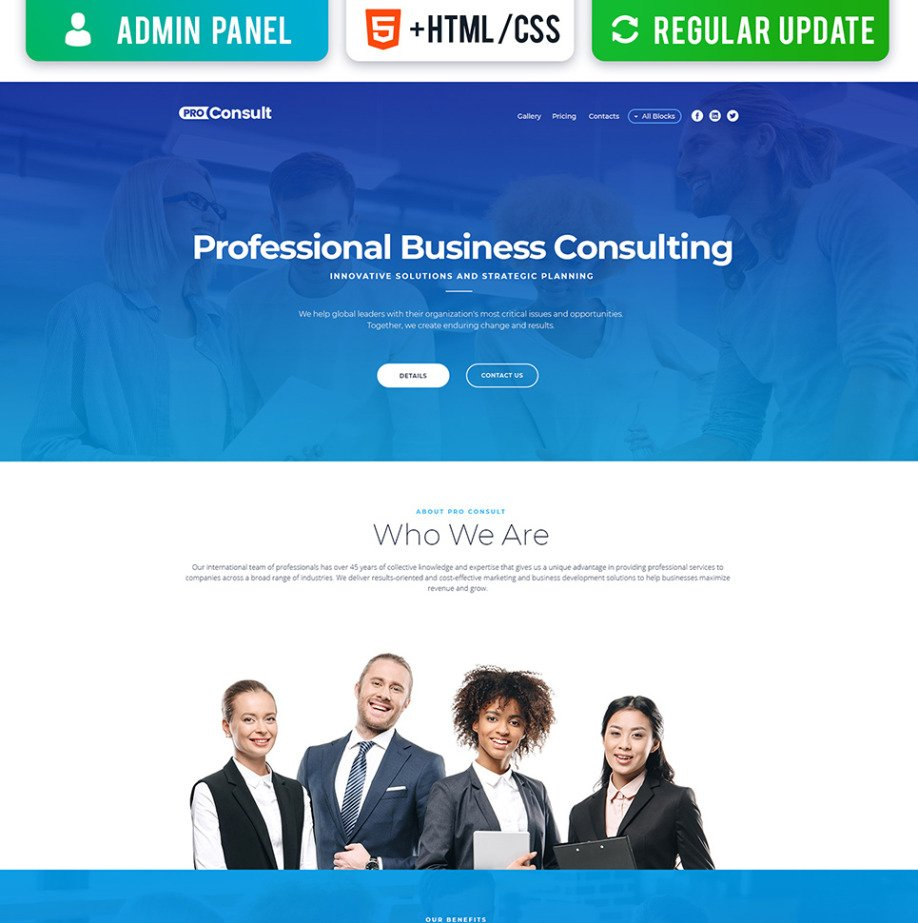 Consulting landing page template for business motocms consulting landing page template image flashek Image collections