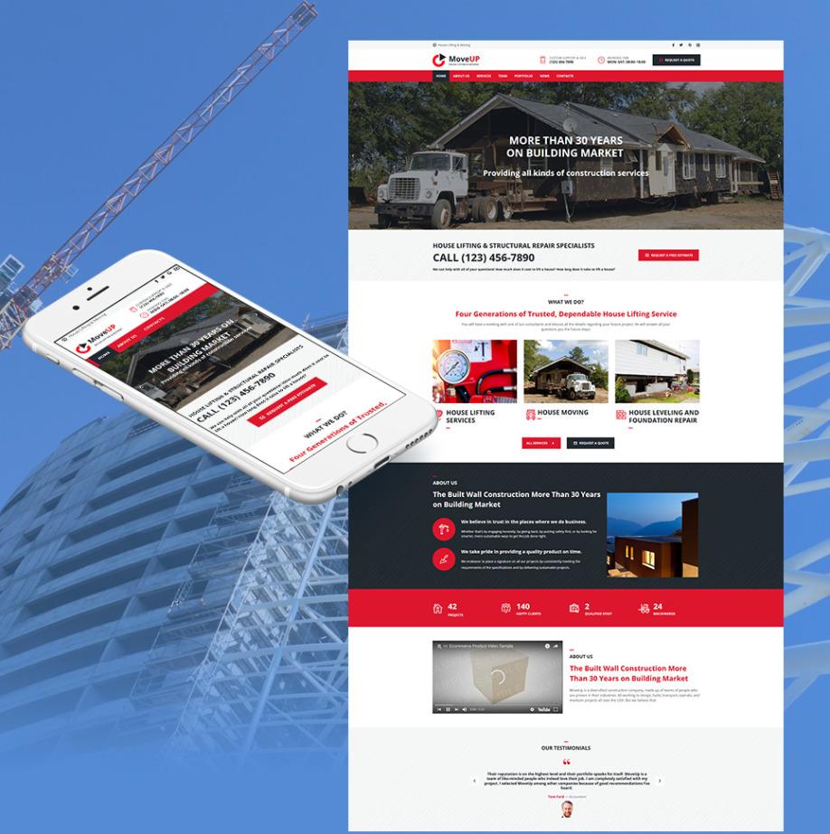 Plantilla Web HTML MoveUp | MotoCMS
