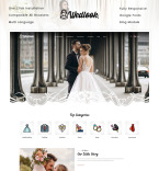 Бракосочетания. Шаблон сайта 91960