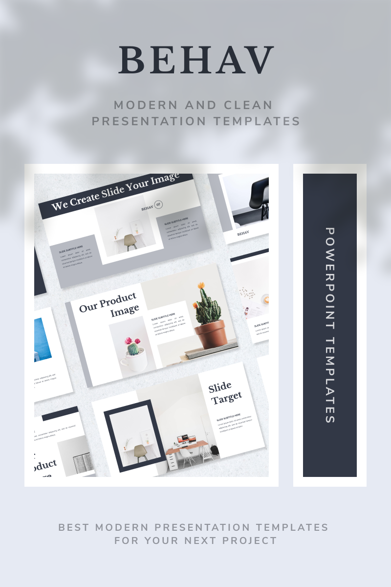 BEHAV Template PowerPoint №92015