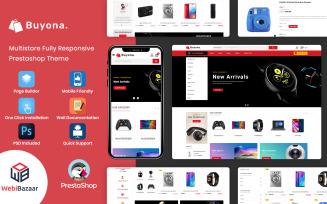 Buyona - Supermart Electronic Template PrestaShop Theme