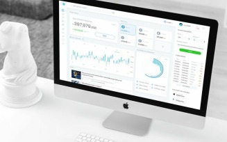 Cryptocurrency Wallet Admin Dashboard Ui UI Elements