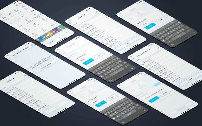 Manage Group Of Friends UI Elements #92271