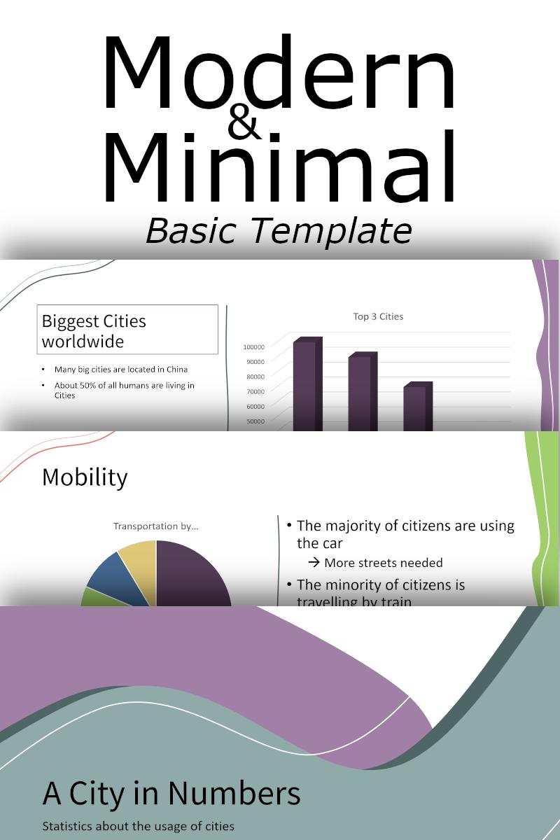 Modern & Minimal Basic PowerPoint Template