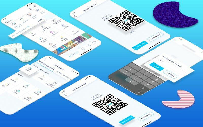 Receive Money UI Elements