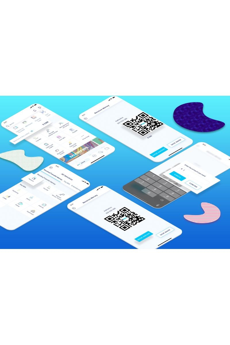 Receive Money UI Elements - screenshot