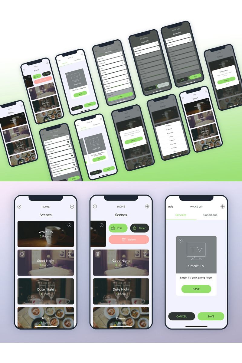 Scenes UI Elements