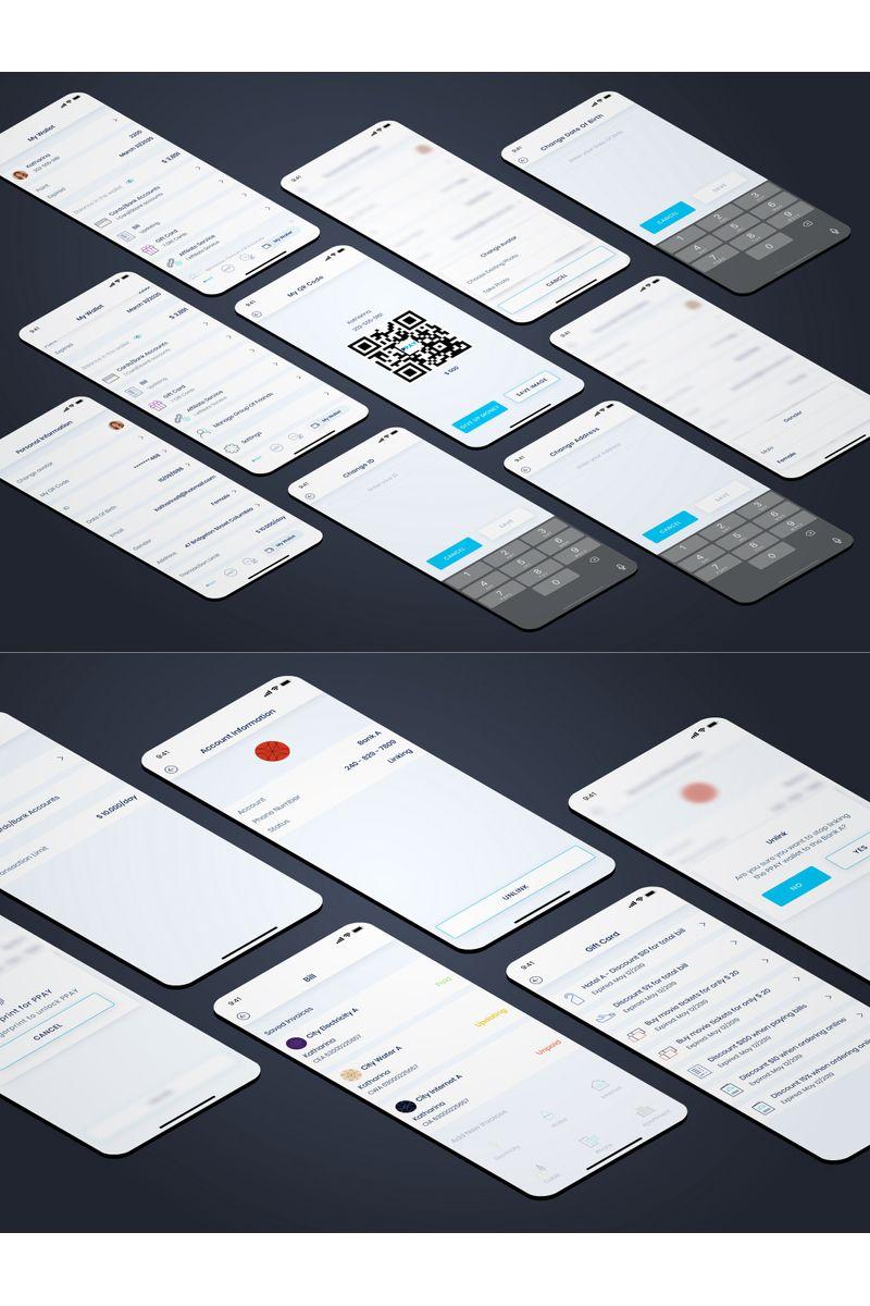 "UI-Elemente namens ""My Wallet"" #92270"