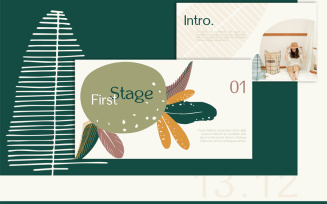 Flora 13.12 PowerPoint Template