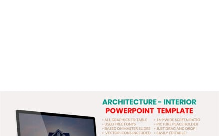 Architecture - Interior PowerPoint Template