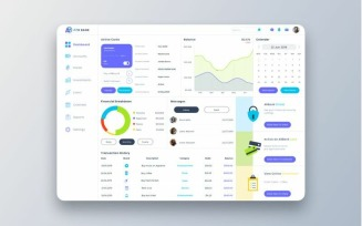 ARO Bank Dashboard UI