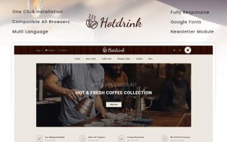 Hotdrink - Coffee Store OpenCart Template
