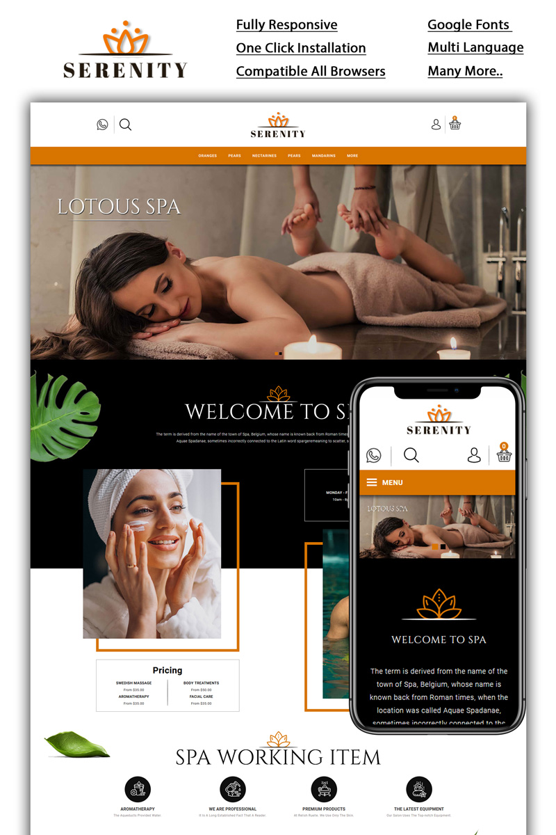 Serenity - Spa Store №92352
