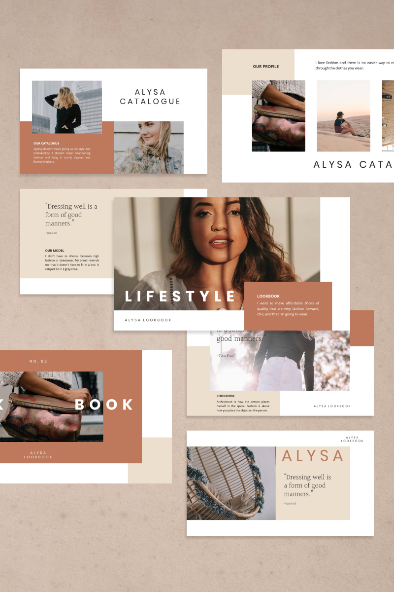 "PowerPoint šablona ""ALYSA"" #92551"