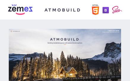 Atmobuild - Construction Business Website Template