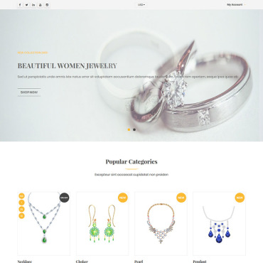 Купить  пофессиональные Shopify шаблоны. Купить шаблон #92657 и создать сайт.