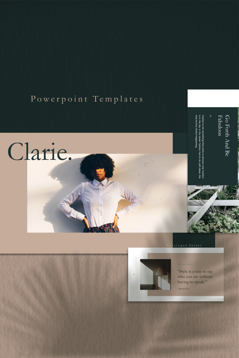 CLARIE Template PowerPoint №92681