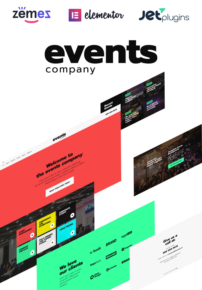 65+ best wordpress event & conference themes 2017.