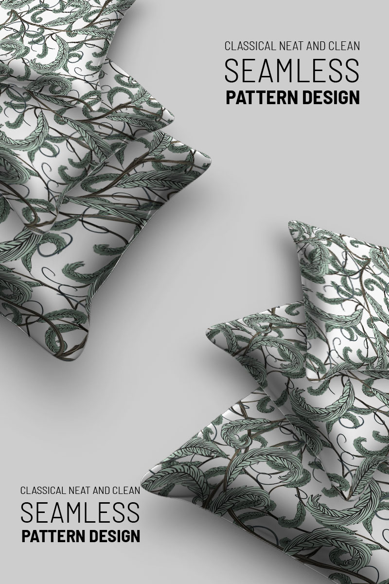 Abstract  floral seamless design №92725 - скриншот