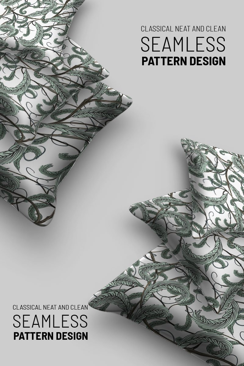 """Abstract  floral seamless design"" pattern  #92725 - screenshot"