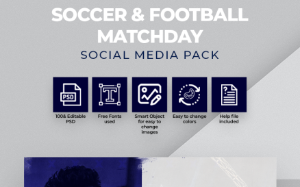 Soccer & Football Matchday Social Media