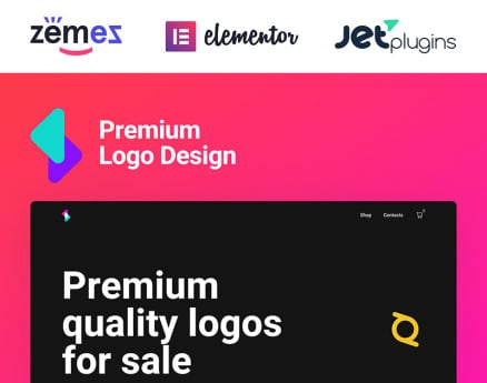 Logoster - Creative And Modern Logo Design Shop WooCommerce Theme