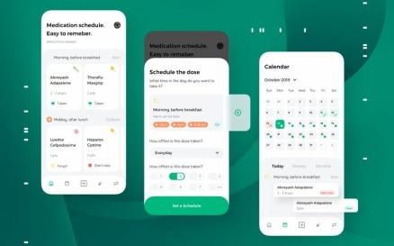 Healple - Medical Mobile App UI Sketch Template