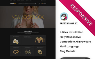 Gemskings - The Jewelry Store Responsive PrestaShop Theme