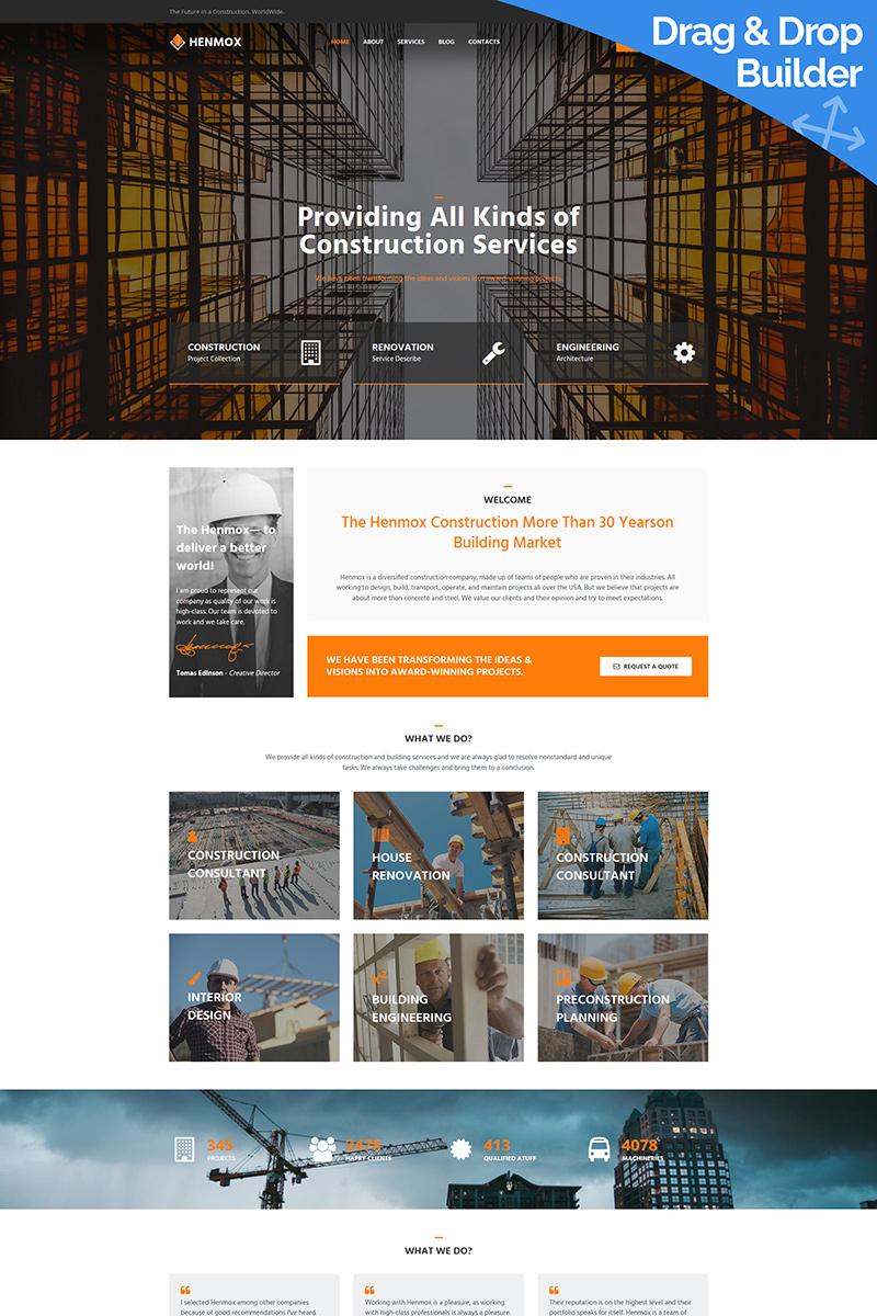 Henmox - Construction Company №92847
