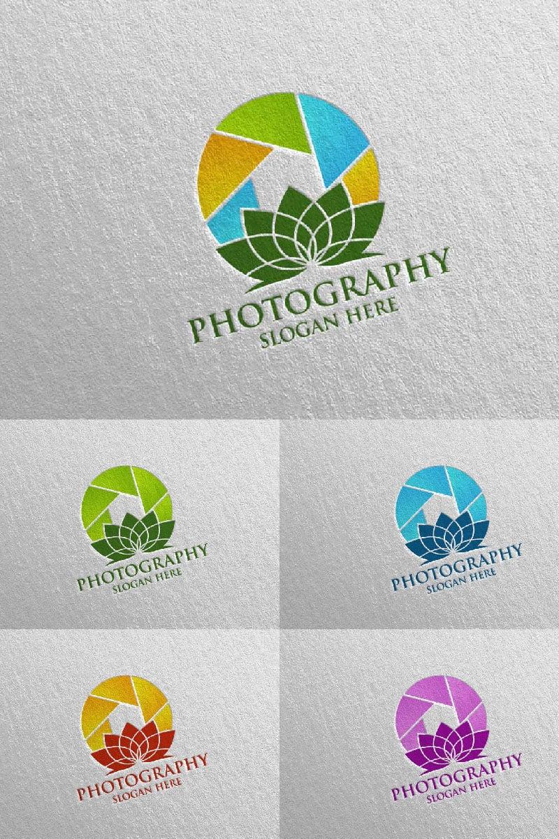 Nature Camera Photography 53 Logo Template - screenshot