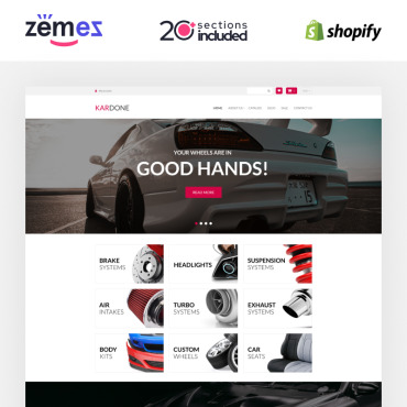 Купить  пофессиональные Shopify шаблоны. Купить шаблон #92968 и создать сайт.