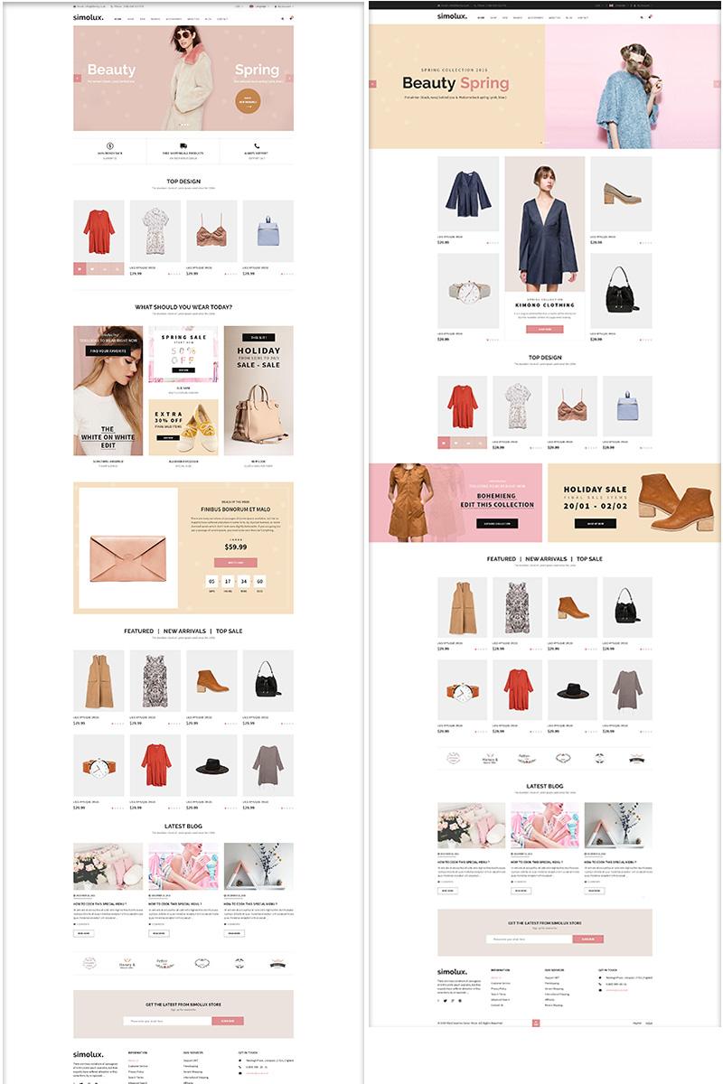 """BigCommerce Theme namens """"Somilux - Premium Responsive"""" #92913"""