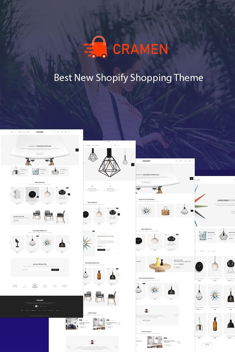 Cramen - Multipurpose Shopify Theme - screenshot