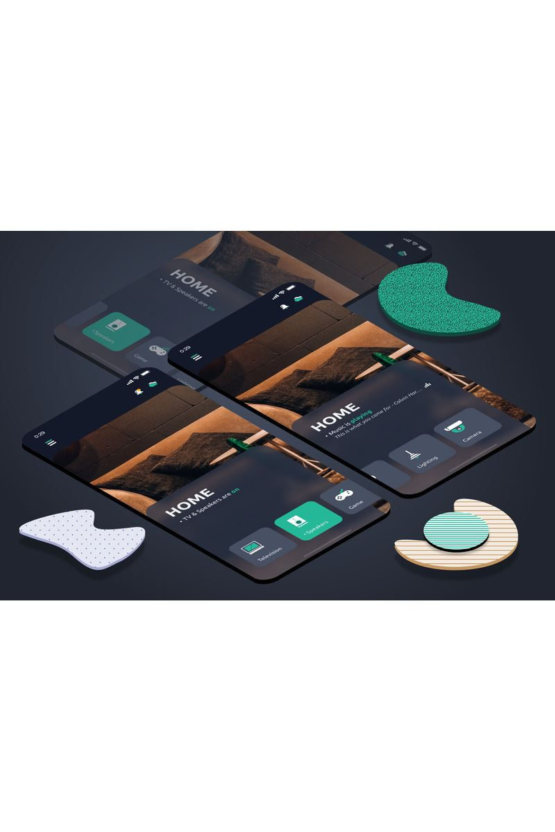 Home Dark Sketch Template - screenshot