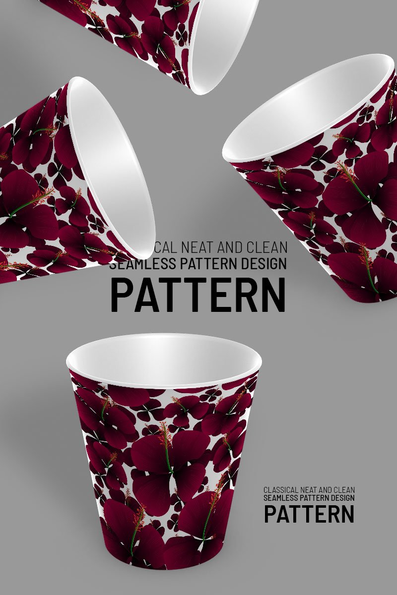 "Pattern ""Flowers randomly scattered"" #92957 - screenshot"