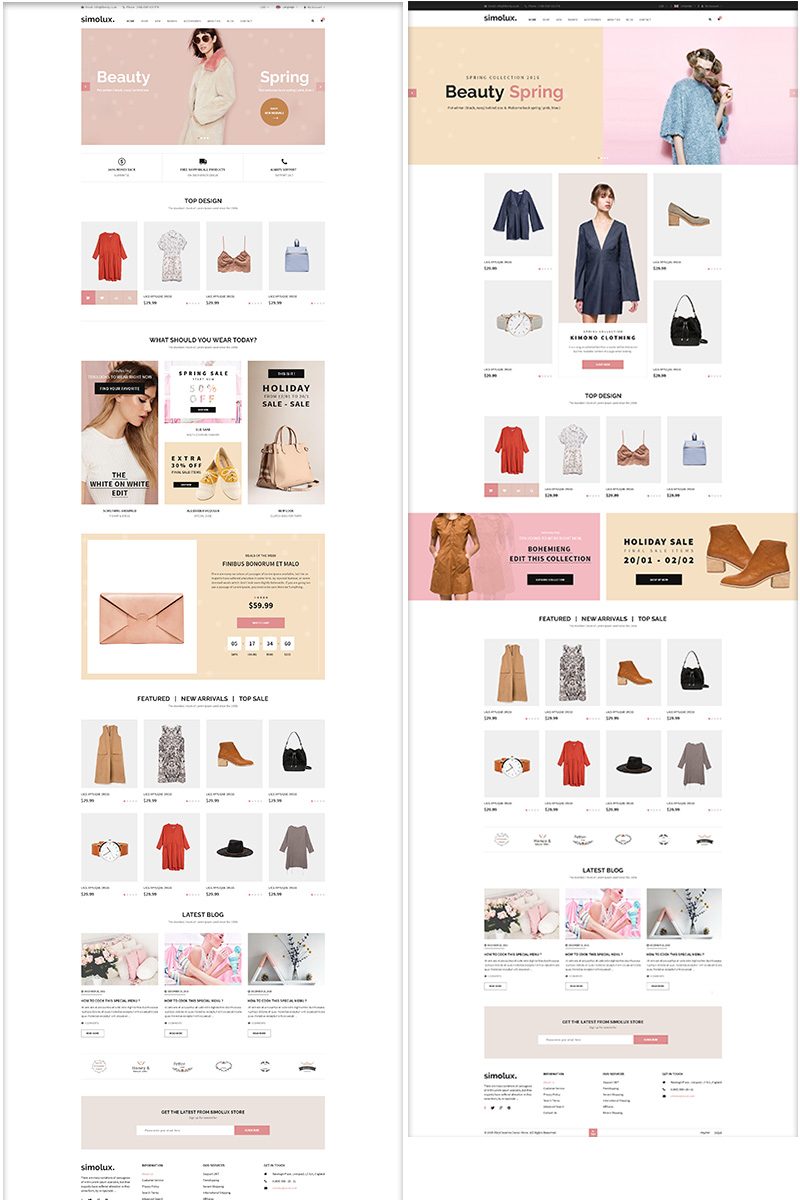 """Somilux - Premium Responsive"" Responsive BigCommerce Theme №92913"