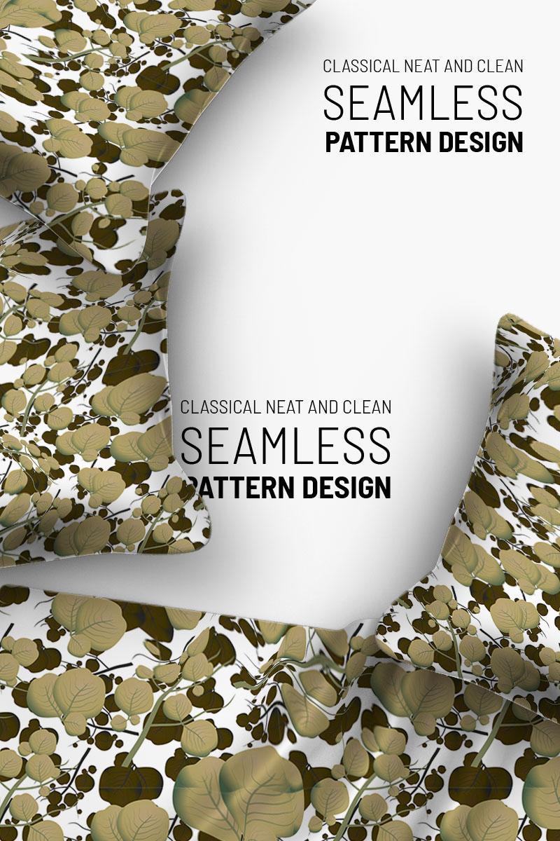 "Template Pattern #92920 ""Floral beautiful seamless design"" - screenshot"