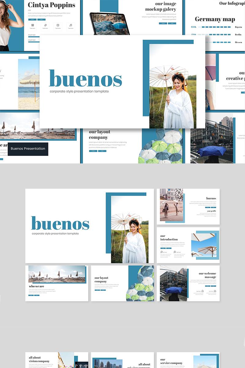 Buenos Google Slides - screenshot