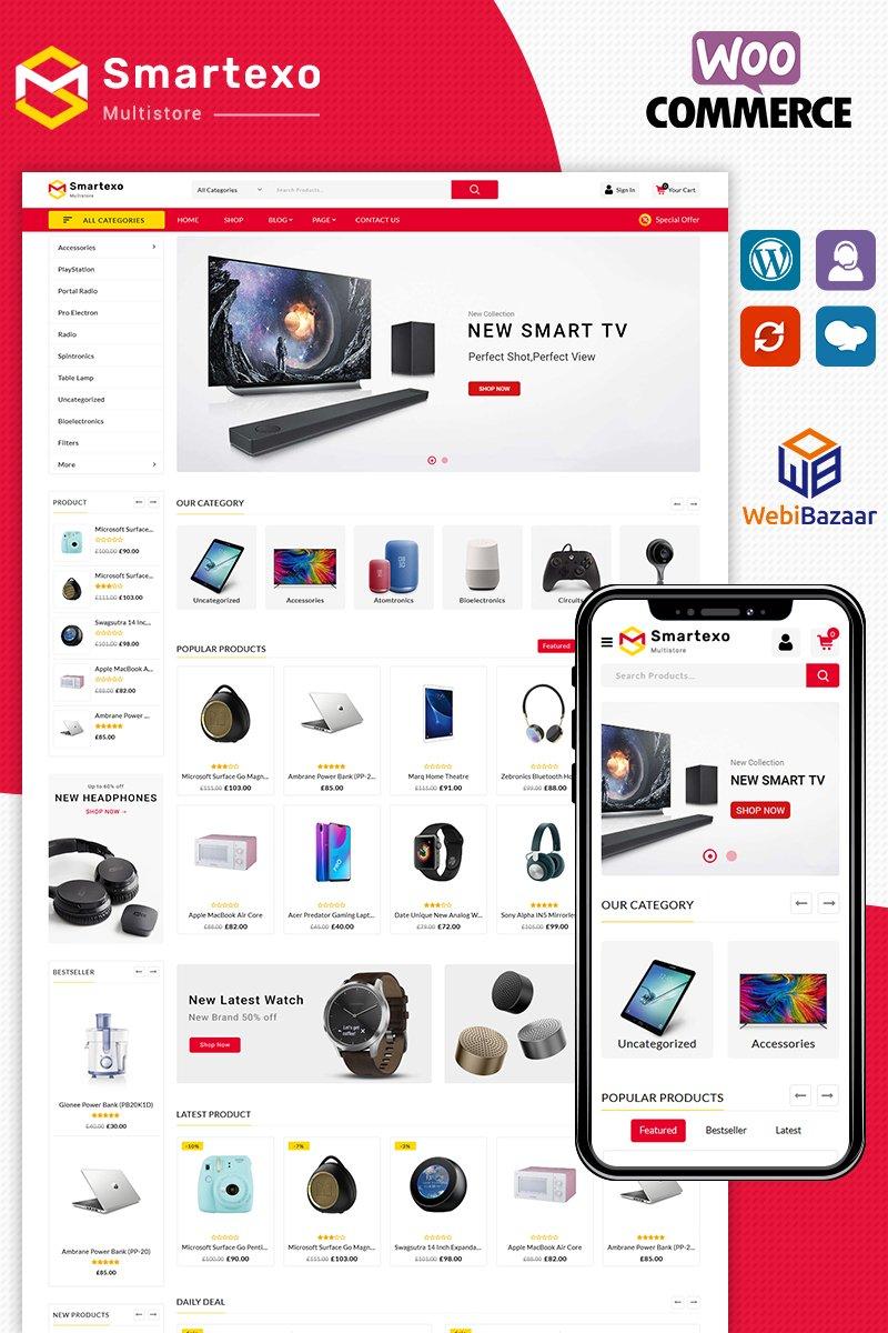 """Modello WooCommerce Responsive #93059 """"Smartexo Electronic"""""""