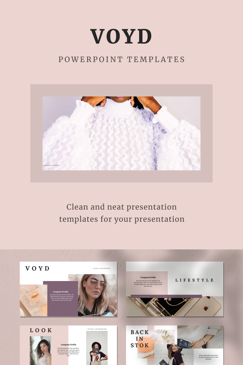 VOYD PowerPoint Template