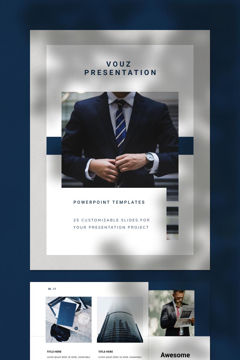 VOUZ PowerPoint Template