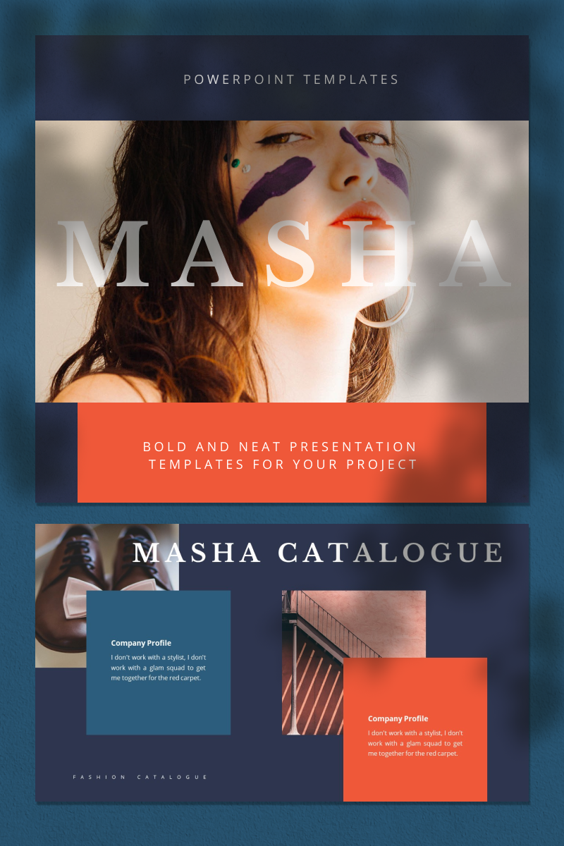 MASHA PowerPoint Template