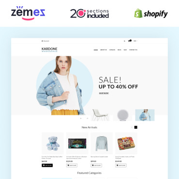 Купить  пофессиональные Shopify шаблоны. Купить шаблон #93151 и создать сайт.
