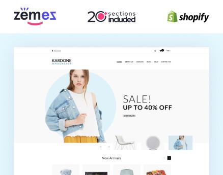 Kardone Wholesale Store Template Clean Shopify Theme