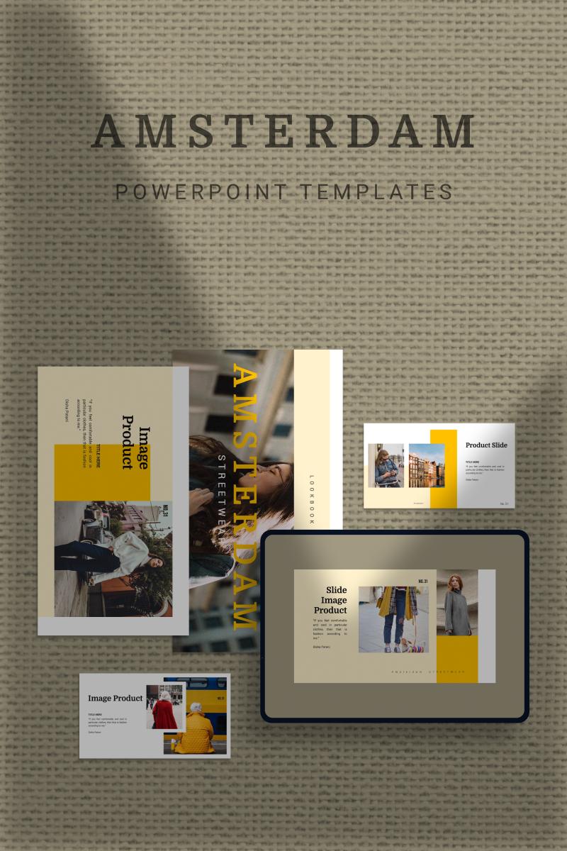 AMSTERDAM Template PowerPoint №93139