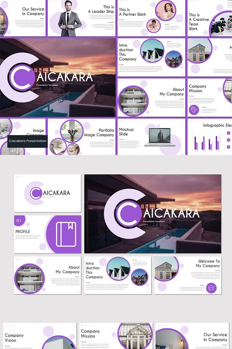 CAICAKARA Google Slides - screenshot