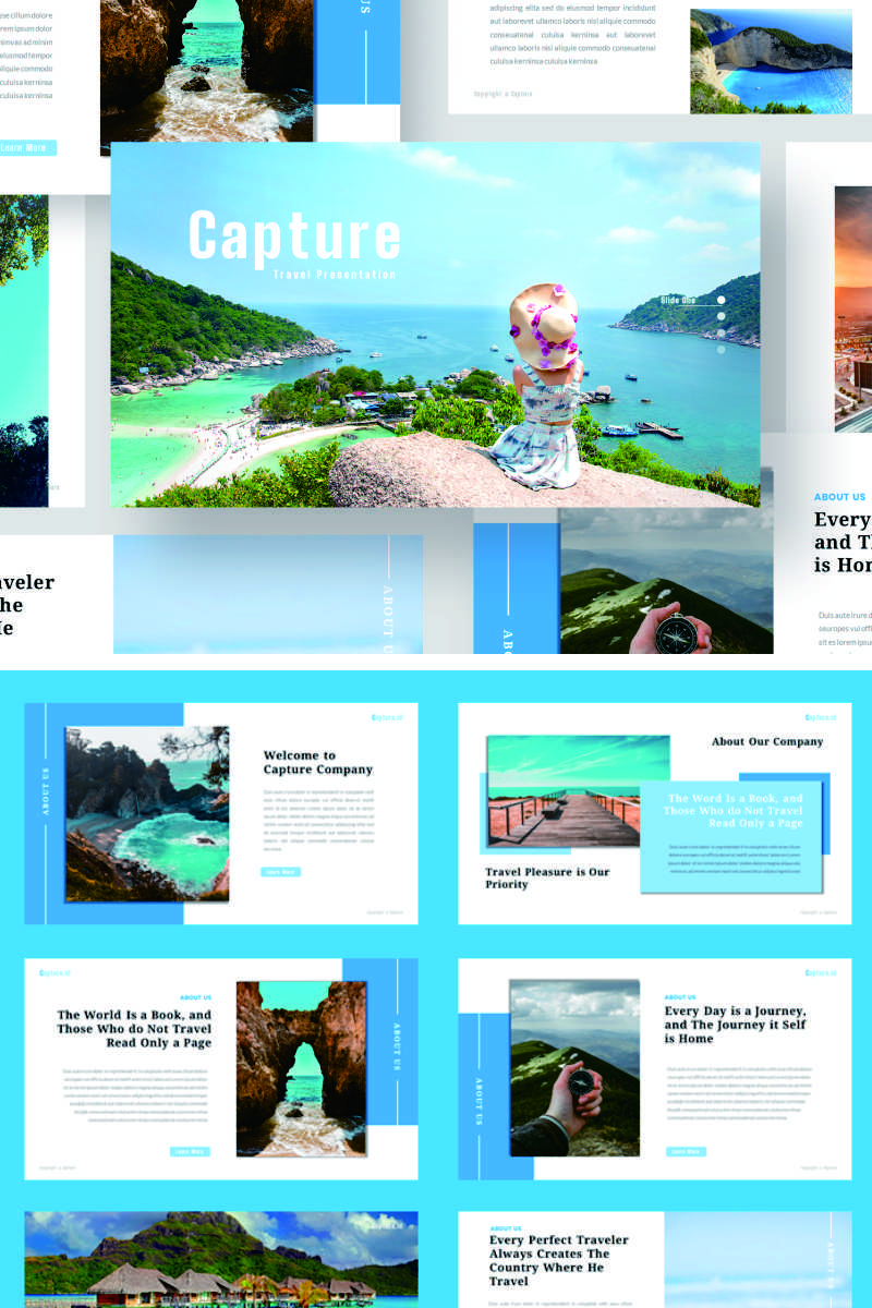 Capture PowerPoint Template