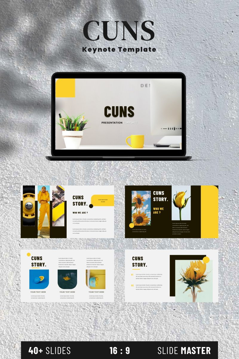 Cuns Keynote Template