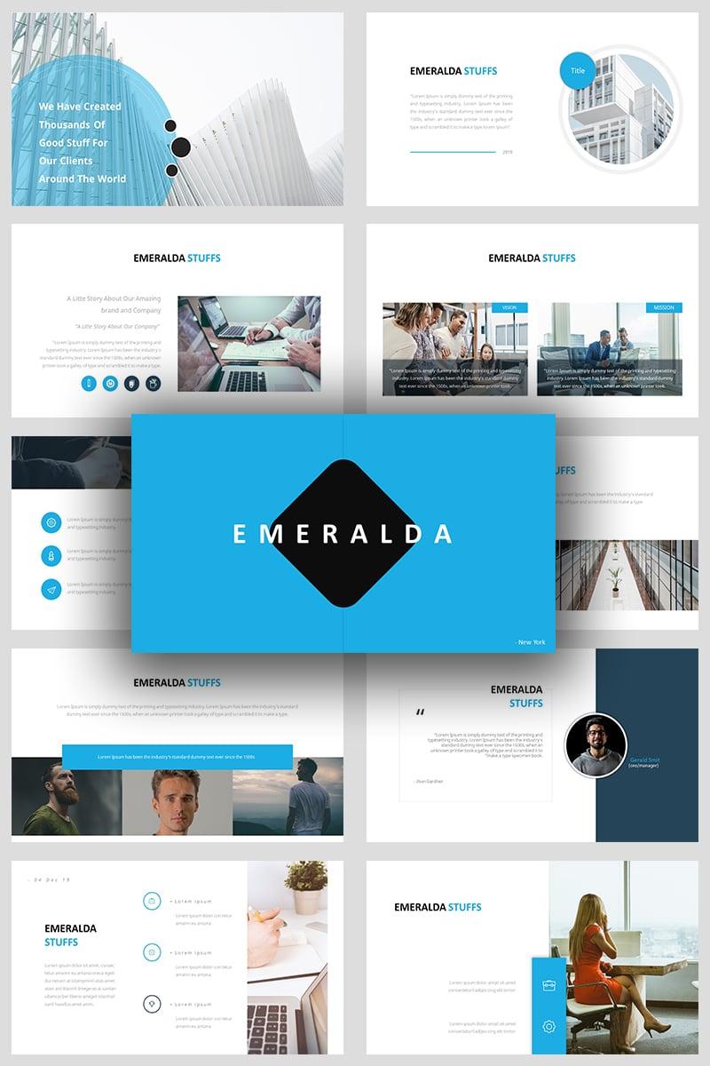Emeralda Creative PowerPoint Template